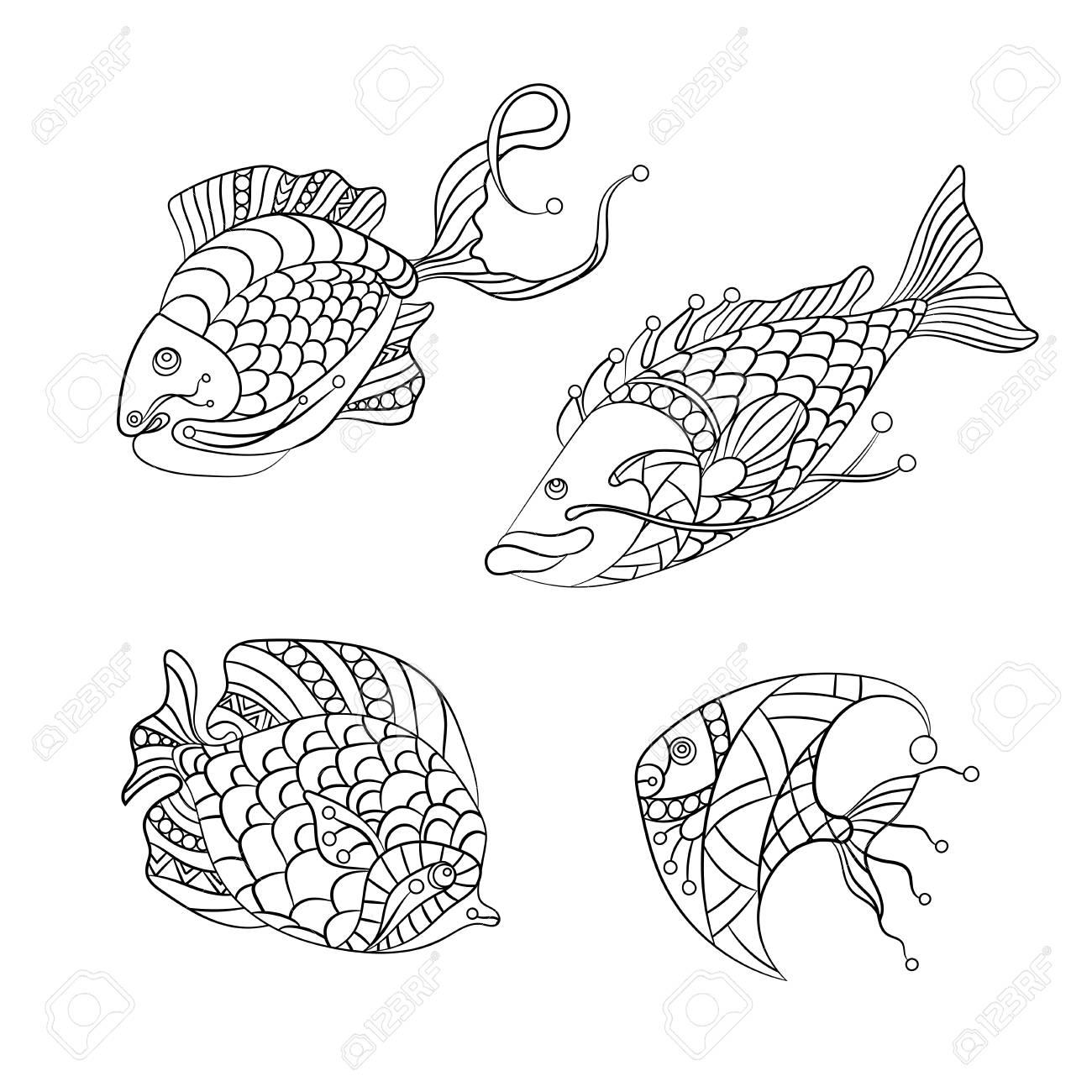 Malvorlage Angler Zeichnung
