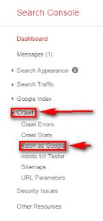 Cara Menggunakan Fetch As Google Dengan Benar