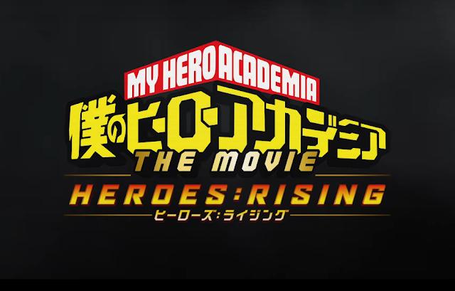 Boku no Hero Academia the Movie 2: Heroes:Rising sub indo