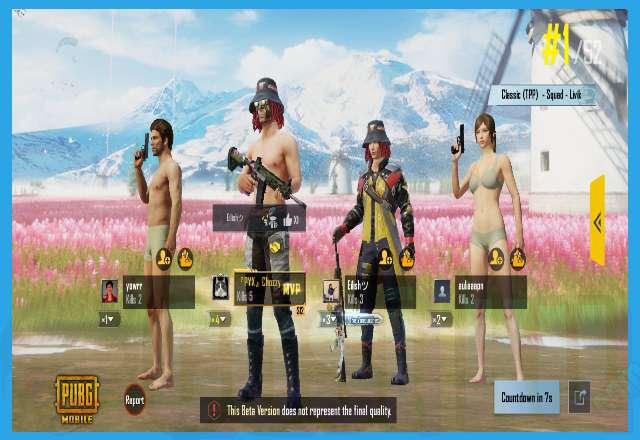 Cara Bermain PUBG Mobile Dalam Squad Tim Random