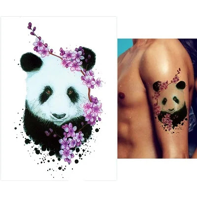 Animal Temporary Tattoo for Women Body