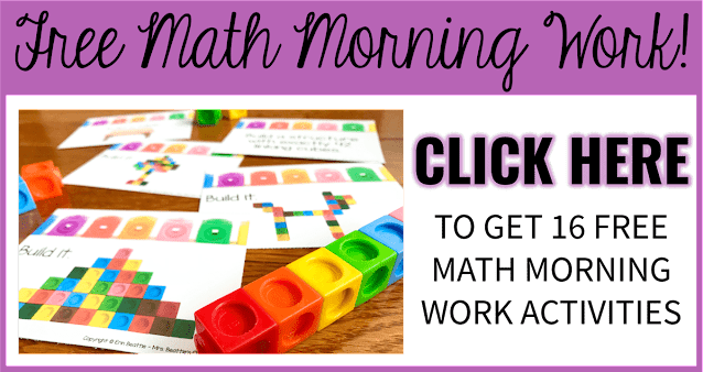 Free Math Morning Activities Offer