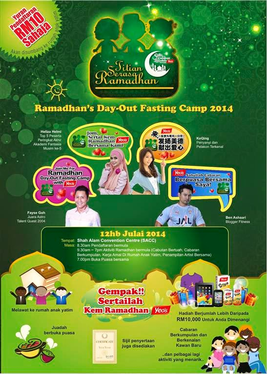 ❤ Jom Join Titian Serasa Ramadhan Bersama YEOS ❤
