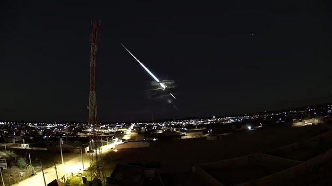 Meteoro é visto no céu de Curaçá e Várzea Nova; fenômeno foi registrado em 4 estados