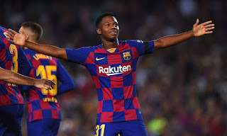 Barcelona are confident of Ansu Fati commitment playdown man u links