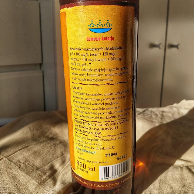Naturalna woda lecznicza Zabłocka, mgiełka do inhalacji