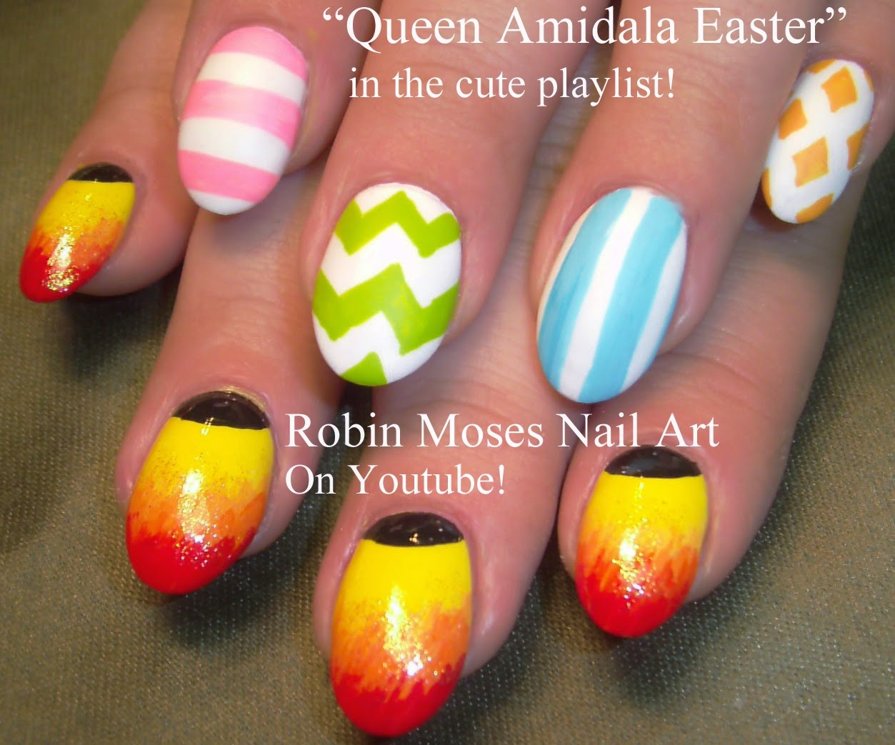 Robin Moses Nail Art March 2015
