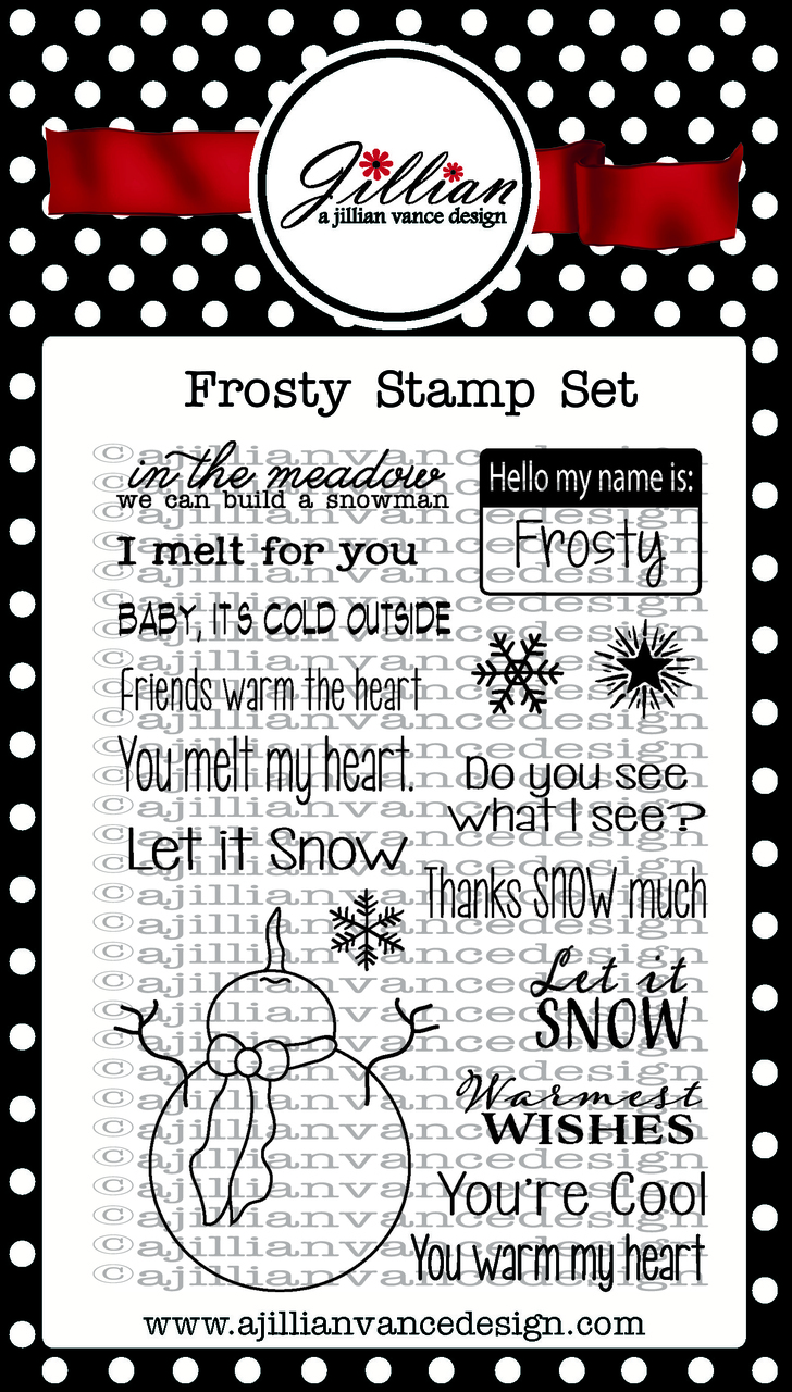 Frosty Stamp Set