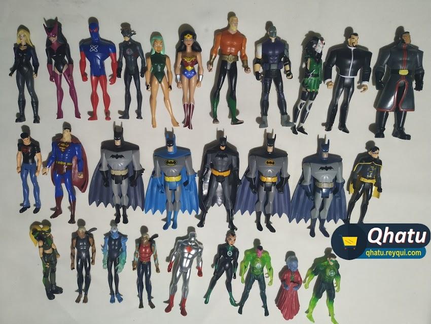 (Bs. 22 c/u) Diferentes figuras de DC Comics