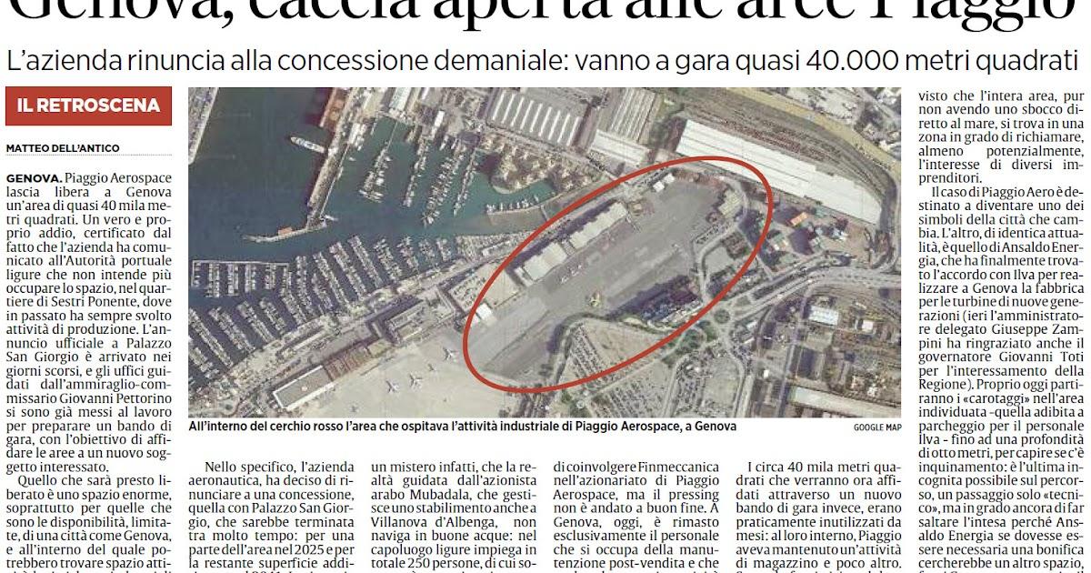 Alassiofutura genova e 39 caccia aperta alle aree piaggio for Diretta da montecitorio