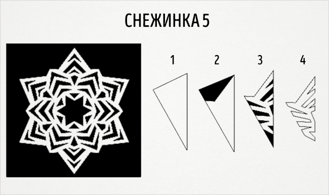 20 schemes is a delightful snowflakes out of paper