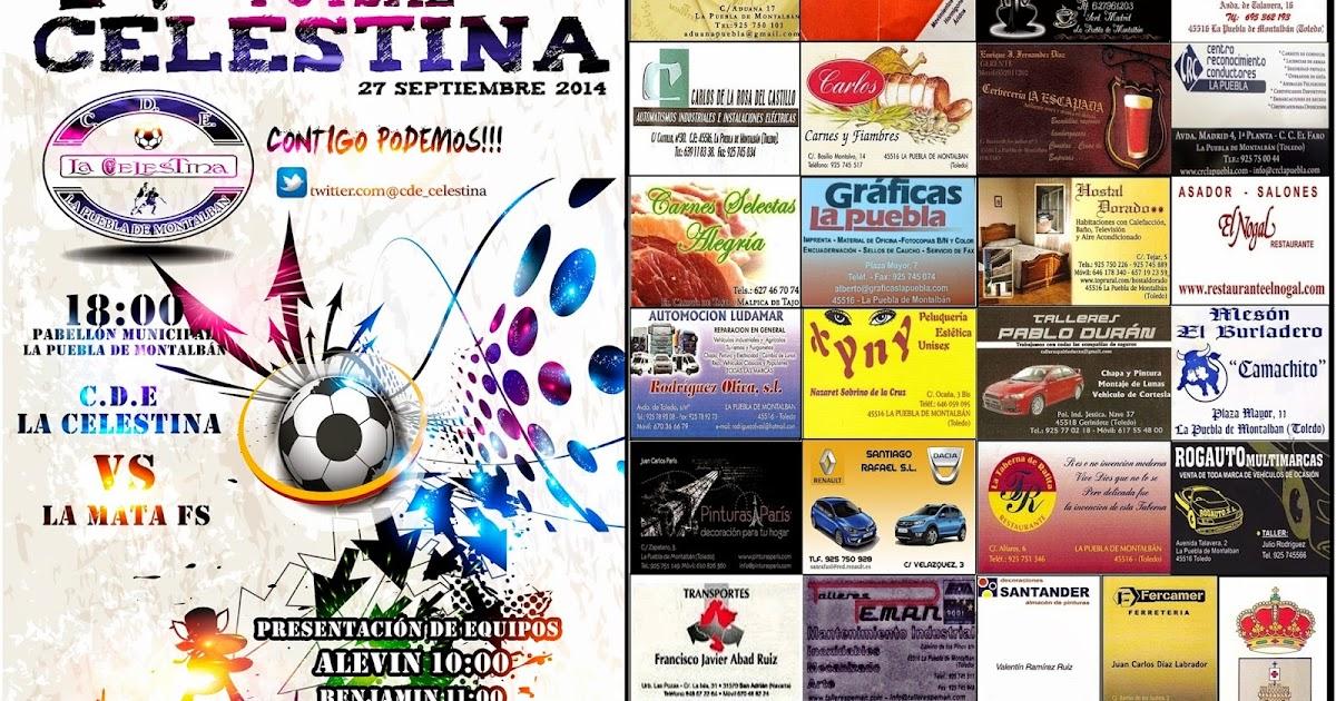 CRÓNICA: IV Trofeo Futsal LA CELESTINA - C.D.E. La Celestina