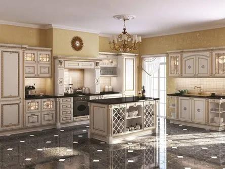 interior english style, Making a kitchen island