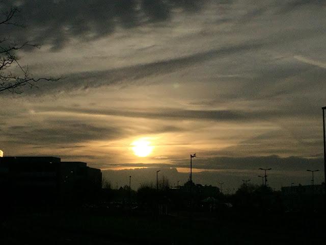 Kugelfisch-Blog: Sonnenaufgang