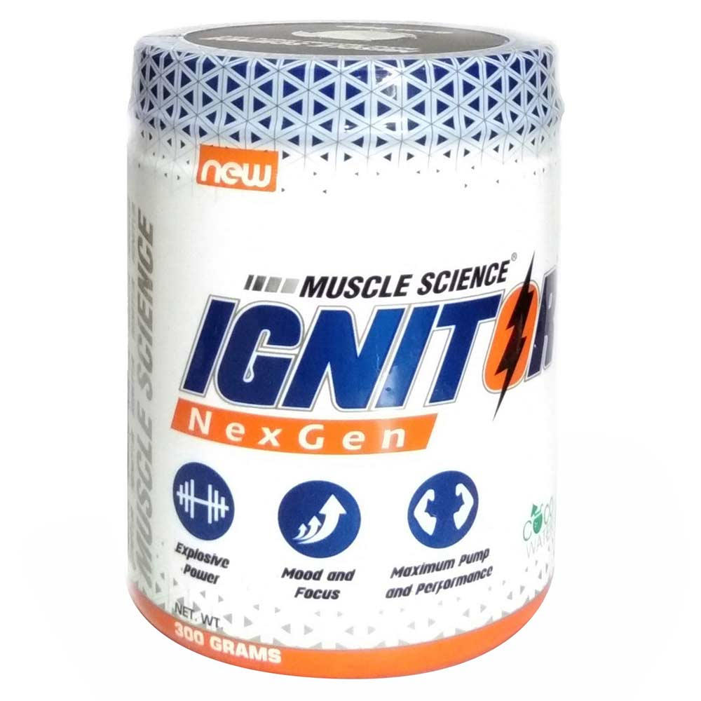 Muscle Science Ignitor Nex Gen Pre-Workout, 0.66 lb