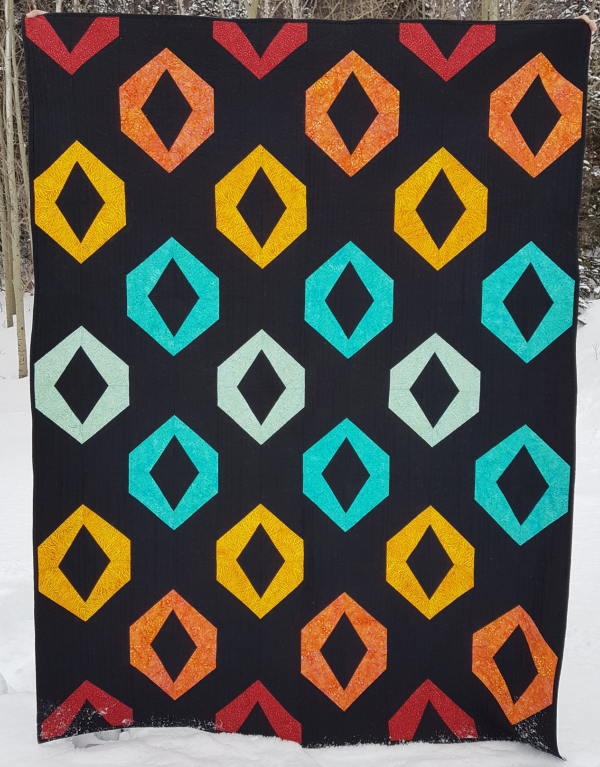 Hollow Jewels quilt pattern | DevotedQuilter.com