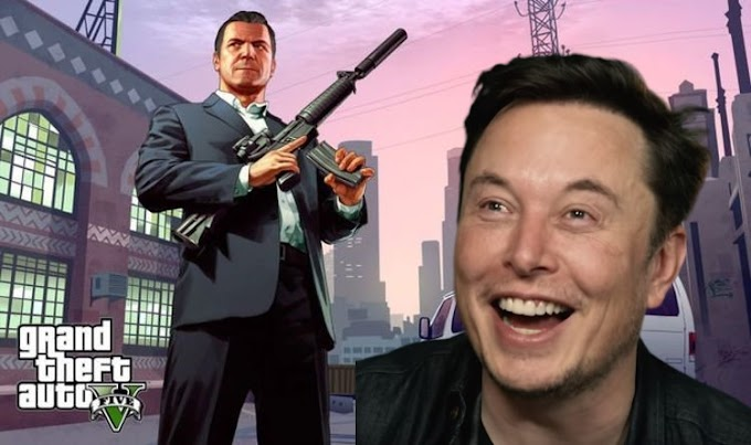 Tech entrepreneur and Billionaire Elon Musk troll Rockstar games and GTA 5