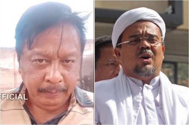 Ngeri, Oknum Polisi Ini Ancam Habib Rizieq: Saya Siap Sembelih Lehernya