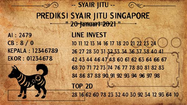prediksi togel singapore 20 januari 2021