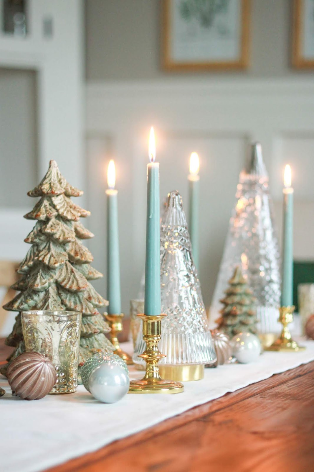 christmas table tree decorating ideas
