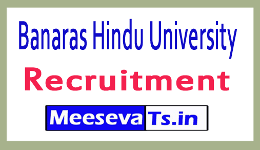 Banaras Hindu University BHU Recruitment