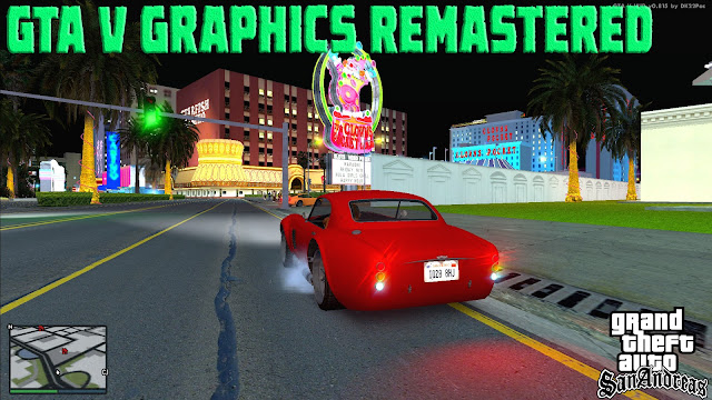 GTA V Graphics Remastered For GTA San Andreas 2021