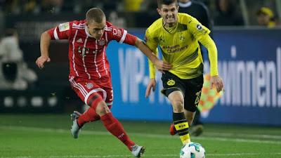 Highlight B. Dortmund 1-3 B. Munchen, 04 November 2017