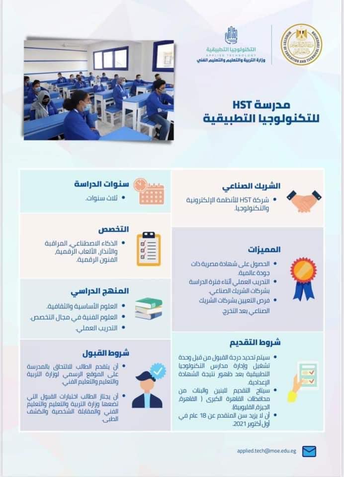 لطلاب الإعدادية .. فتح باب التقديم في 20 مدرسة للتكنولوجيا التطبيقية يوليو المقبل 0%2B%25283%2529