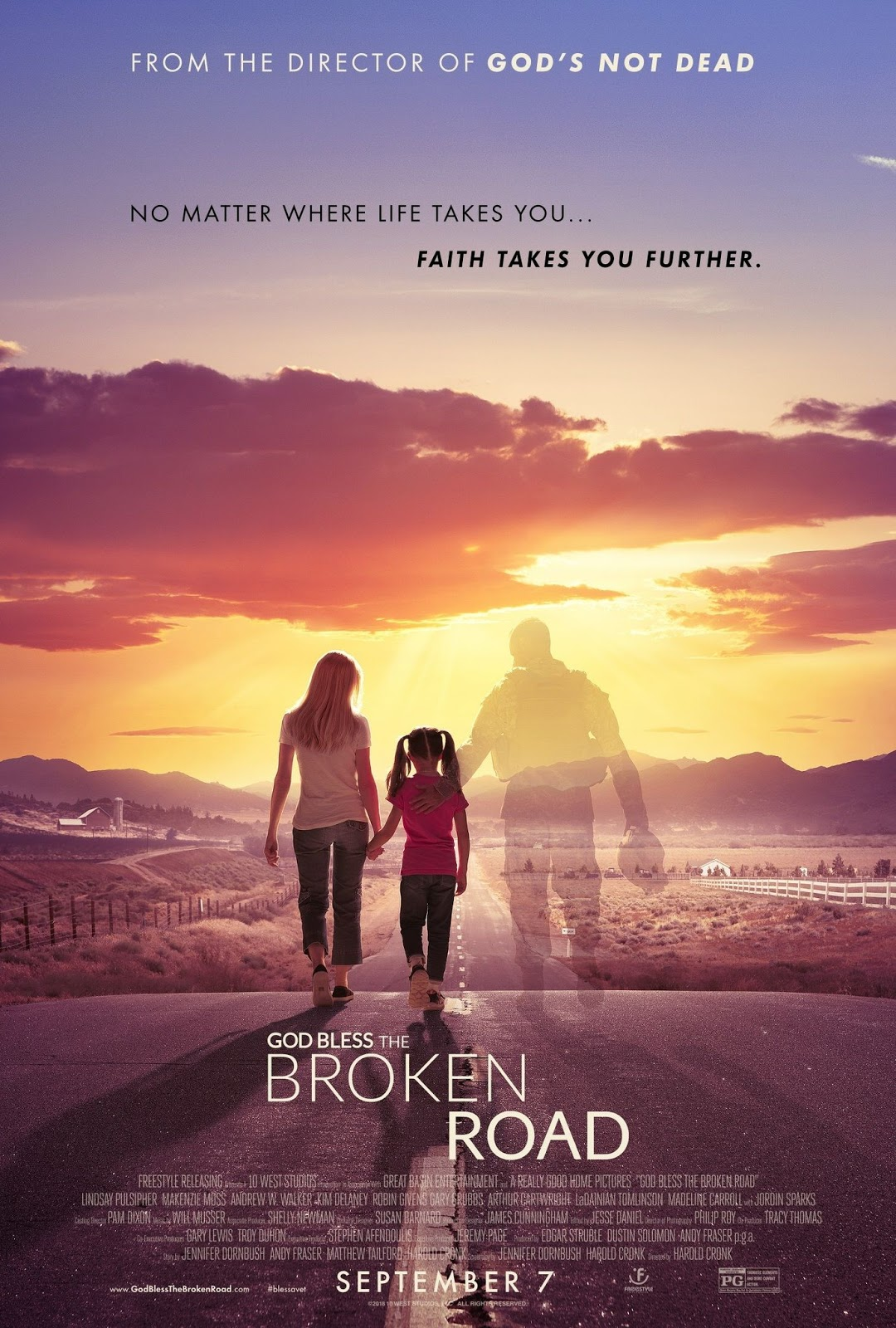 GOD BLESS THE BROKEN ROAD TAMIL DUBBED HD