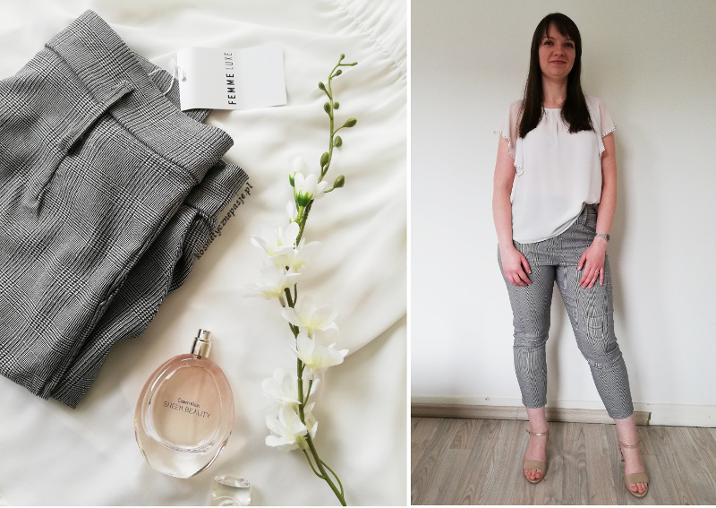 Grey Trousers Marie