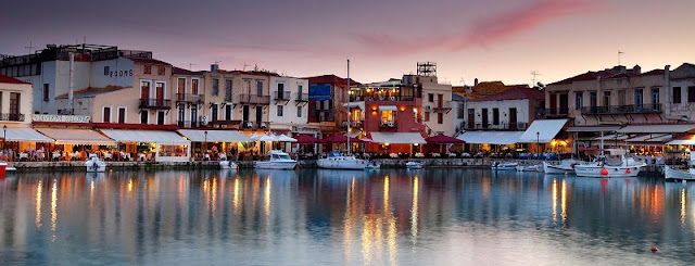 Restaurantes na ilha de Creta, Grécia