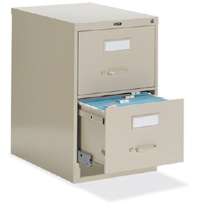 Global 2 Drawer Vertical Legal File