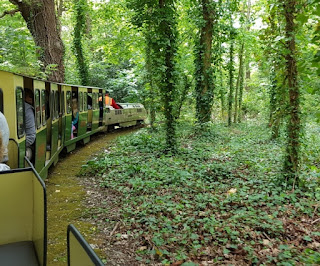 Miniature Railway at the Royal Victoria Country Park in Netley, Southampton