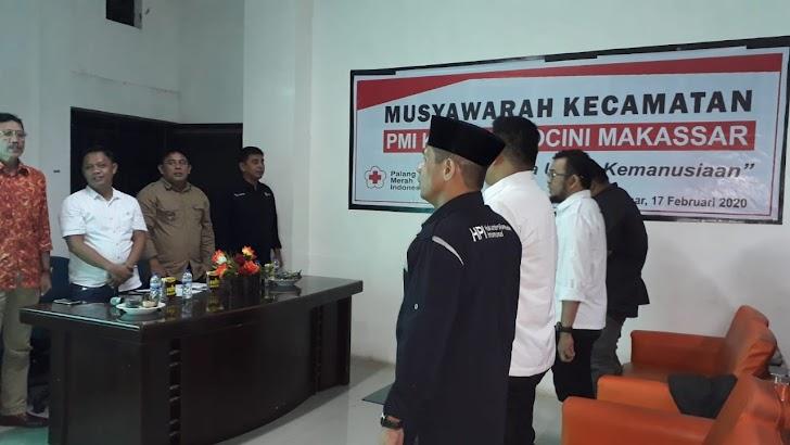 Musyawarah Kecamatan PMI Rappocini, Tokoh Muda Didaulat Jadi Ketua