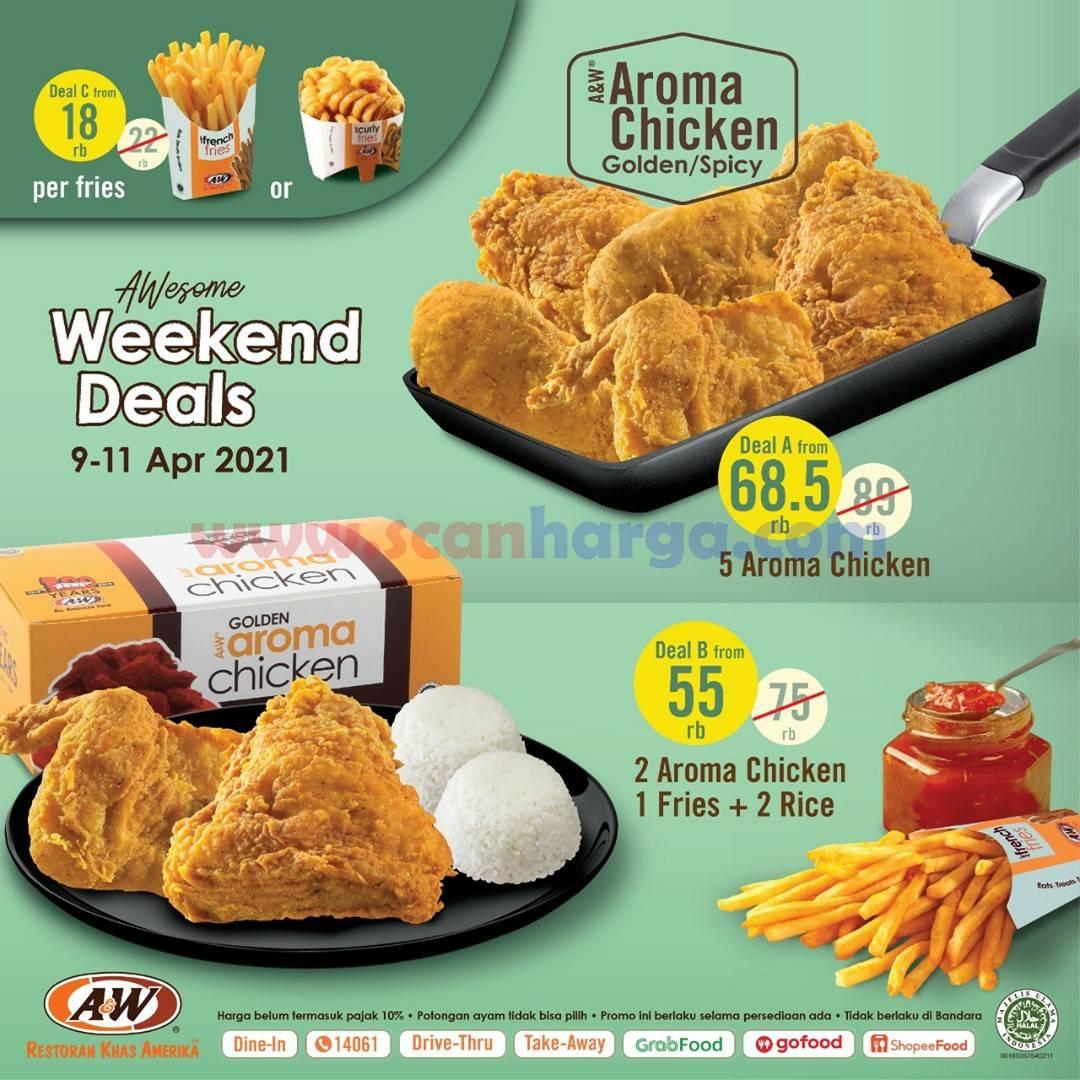 Promo AW Restoran Weekend Deals Periode 9 - 11 April 2021