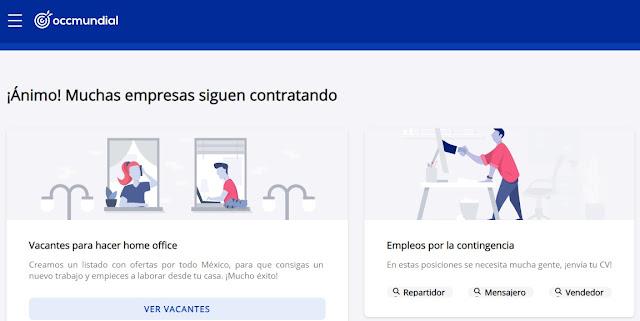 OCC.com.mx Mexico Bolsa de trabajo Buscador rapido