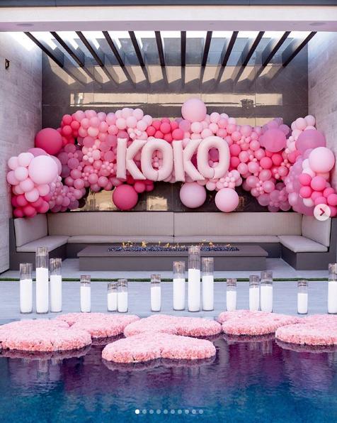 La fiesta de cumpleaños de Khloé Kardashian