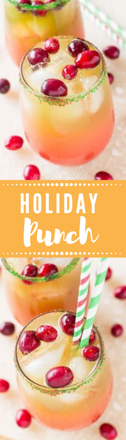 Holiday Punch #punch #drink #healthy #fresdrink #cocktail