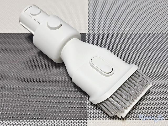 【MI 小米】米家無線吸塵器 G9 (白色) 開箱_二合一毛刷