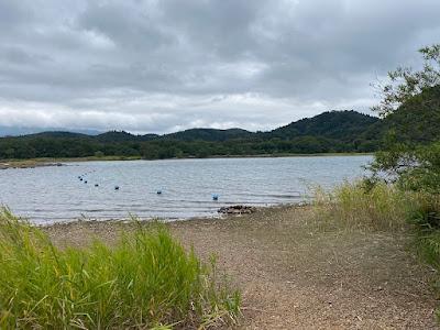 9月の猪苗代湖畔