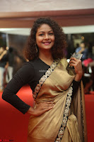 Aditi Myakal look super cute in saree at Mirchi Music Awards South 2017 ~  Exclusive Celebrities Galleries 016.JPG