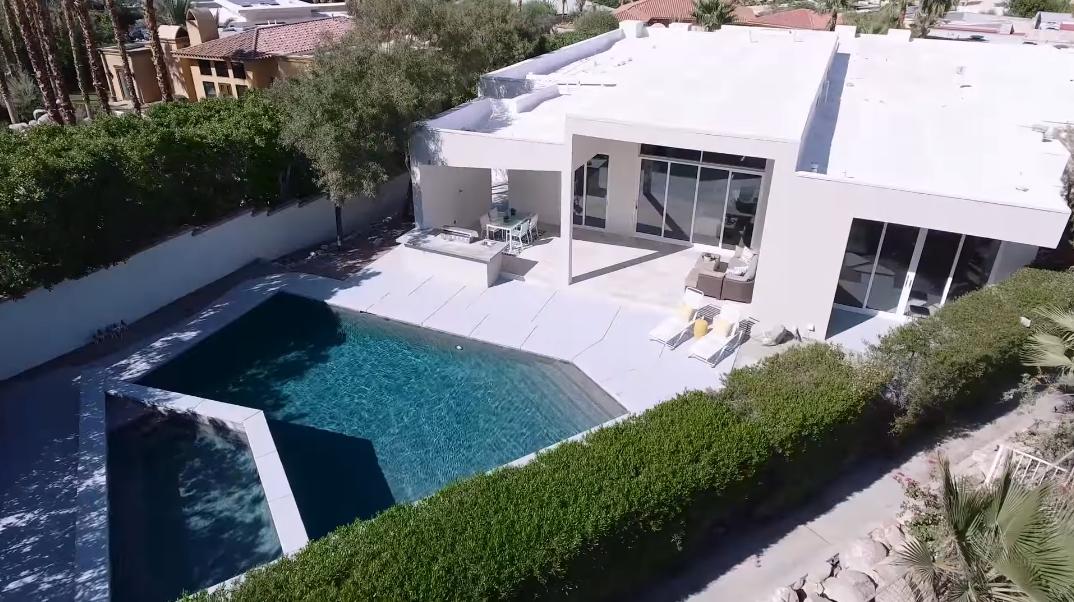 38 Interior Photos vs. 599 Camino Calidad, Palm Springs, CA Luxury Contemporary House Tour