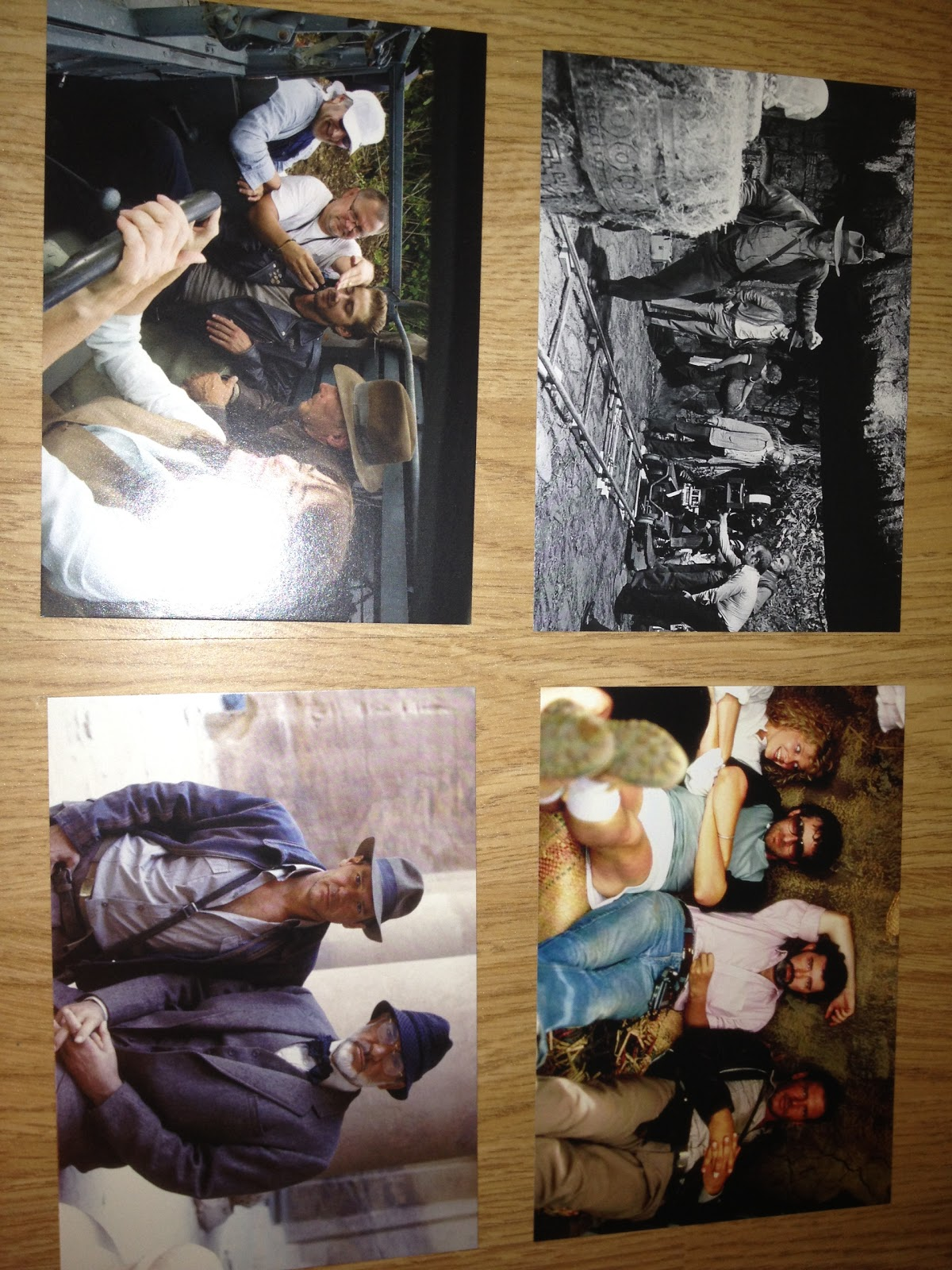 collectors cards, indiana jones