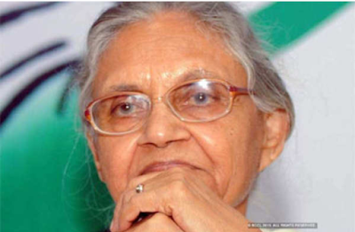 Delhi-ex.Chief Minister Sheila Dikshit passes-away