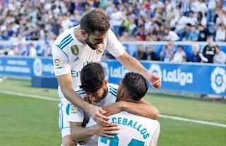Video Gol Alaves vs Real Madrid 1-2