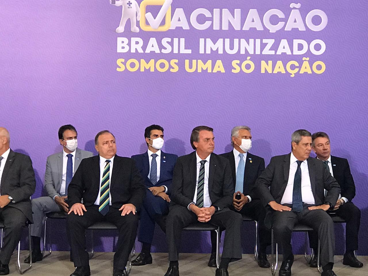 Presidente Bolsonaro garante: Ceará deve receber 1,7 milhão de doses no 1° Semestre de 2021