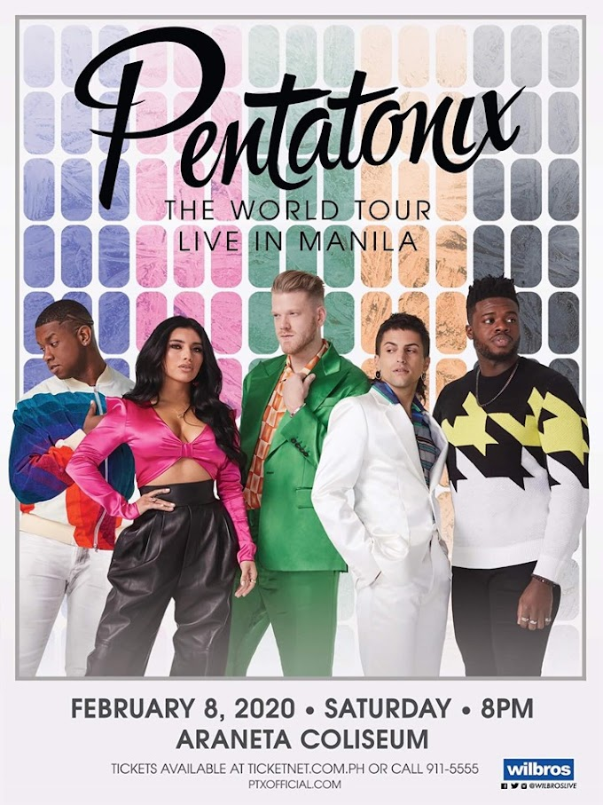PENTATONIX  The World Tour - Live in Manila 2020