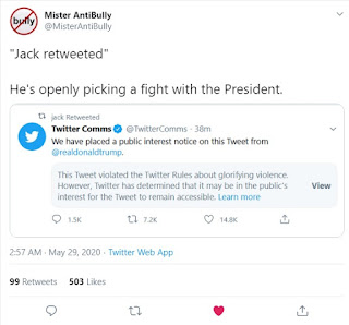 Mister Anti-bully Jack retweeted