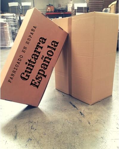 cajas de carton para guitarras