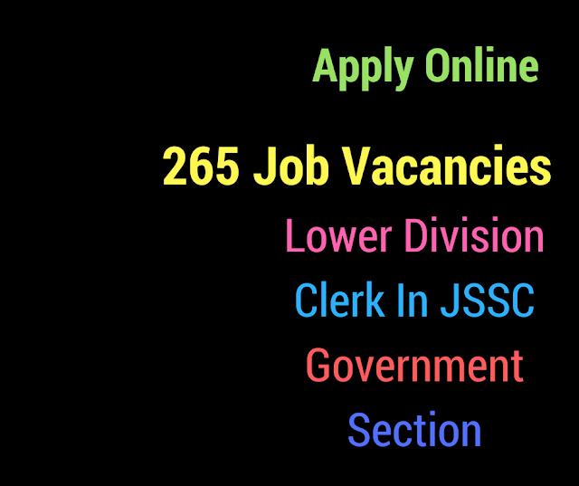 JSSC Recruitment 2018 Job alert